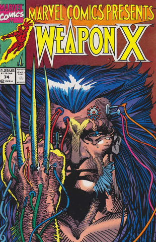 Wolverine Weapon X 74 Marvel Comics Presents 1991