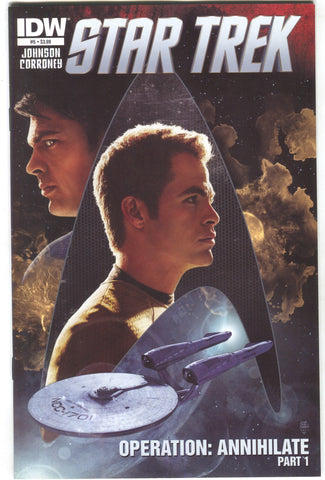 Star Trek 5 A IDW 2012 NM Tim Bradstreet