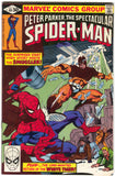 Spectacular Spider-Man 49 Marvel 1980 VF Warehouse Skylight Kieth Pollard