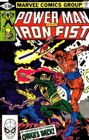 Power Man and Iron Fist 72 Marvel 1979