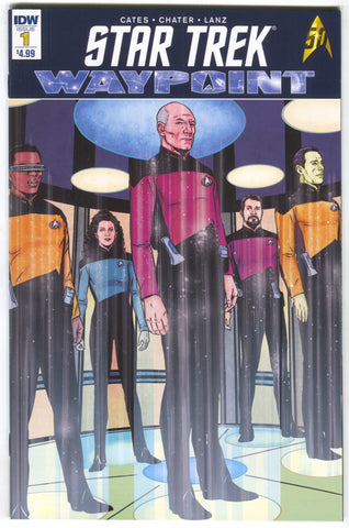 Star Trek Waypoint 1 A IDW 2016 NM Donny Cates Marc Laming