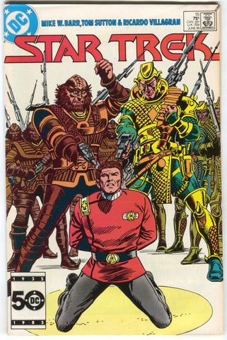 Star Trek 15 1st Series DC 1985 NM Captain Kirk Klingons