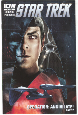 Star Trek 6 A IDW 2012 NM Tim Bradstreet