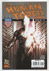 Human Torch Comics #1 A 70Th Anniv Special Marvel 2009 Adi Granov Scott Snyder