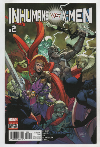 Ivx #2 A (Of 6) Marvel 2017 Charles Soule Leinil Francis Yu