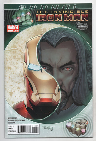 Invincible Iron Man Annual #1 A Marvel 2010 Salvador Larroca Matt Fraction