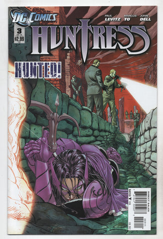 Huntress #3 (Of 6) 3Rd Series DC 2012 Paul Levitz Guillem March
