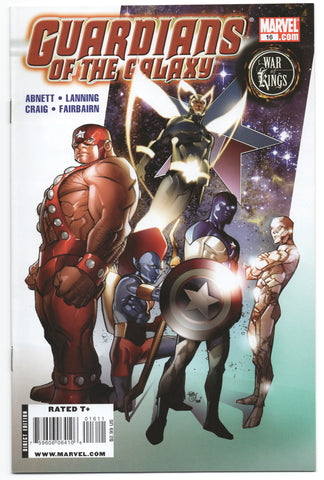 Guardians Of The Galaxy 16 2nd Series Marvel 2009 NM Pasqual Ferry War Of Kings