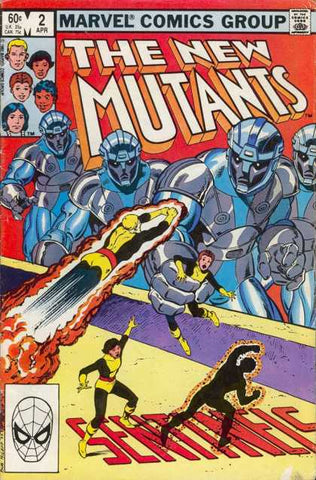 New Mutants 2 Marvel 1983