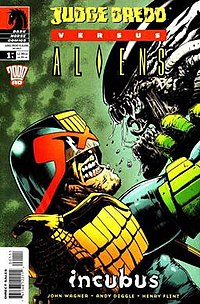 Judge Dredd Versus Aliens 1 Dark Horse 2003