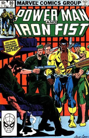 Power Man and Iron Fist 89 Marvel 1982