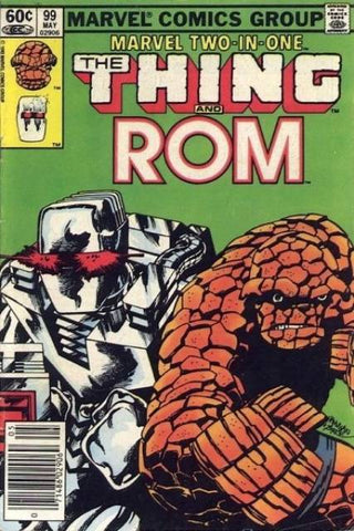 Marvel Two-In-One 99 Thing Rom Spaceknight