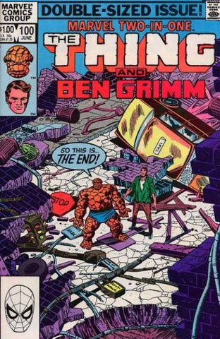 Marvel Two-In-One 100 Thing Ben Grimm
