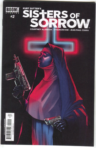 Sisters Of Sorrow 2 A Boom 2017 NM Kurt Sutter Nun Machine Gun
