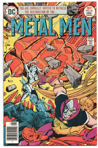 Metal Men 49 DC 1977 FN Walt Simonson Eclipso