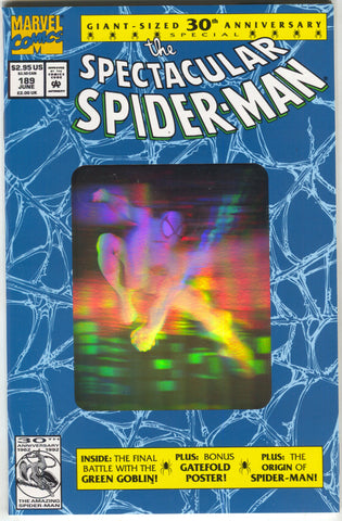 Spectacular Spider-Man 189 A Marvel 1992 NM 1st Print Green Goblin