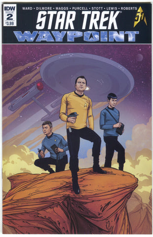 Star Trek Waypoint 2 A IDW 2016 NM David Malan