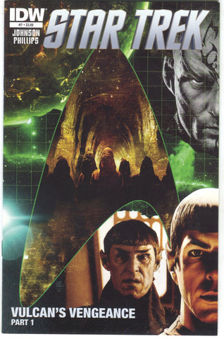 Star Trek 7 A IDW 2012 VF Tim Bradstreet