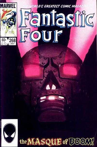 Fantastic Four 268 Marvel 1984 Dr Doom Hulk