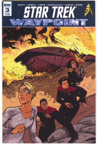 Star Trek Waypoint 3 A IDW 2017 NM Daniel Warren Johnson