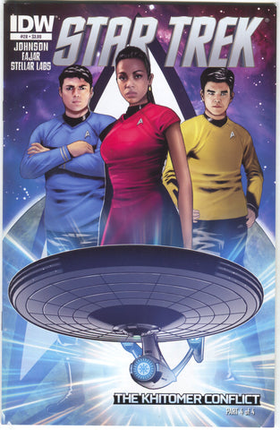 Star Trek 28 A IDW 2013 NM Erfan Fajar