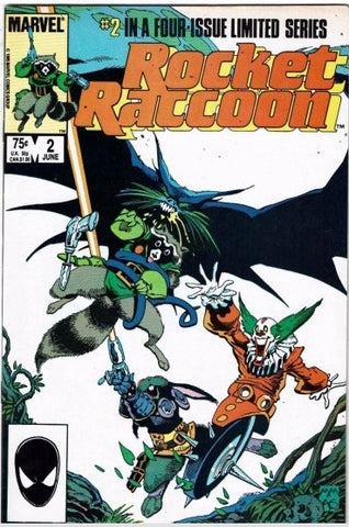 Rocket Raccoon 2 Marvel 1985
