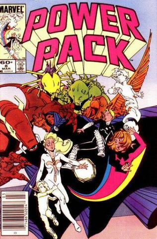 Power Pack 8 Marvel 1984 Cloak and Dagger