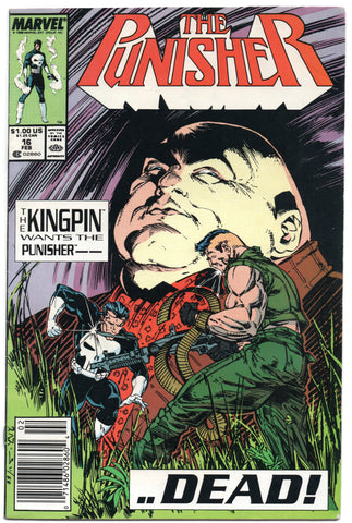 Punisher 16 2nd Series Marvel 1988 FN VF Whilce Portacio