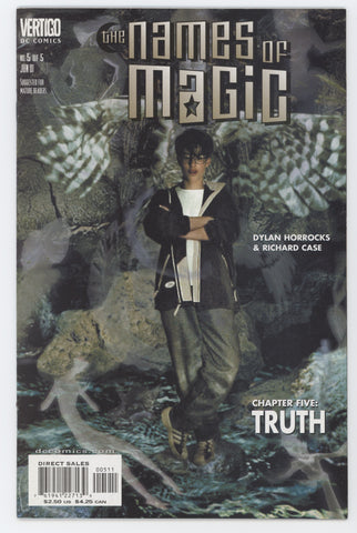 Names Of Magic 5 DC Vertigo 2001 NM Books Tim Hunter John Bolton