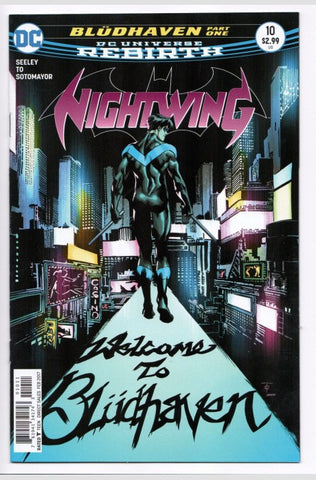Nightwing Rebirth 10 DC 2016