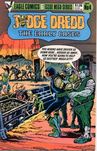 Judge Dredd Early Cases 4 Eagle Comics 1985 2000AD