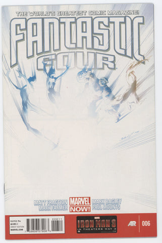 Fantastic Four #6 A 4th Series Marvel 2013 Mark Bagley Matt Fraction
