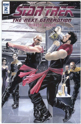Star Trek Next Generation Broken Mirror 2 A IDW 2017 NM JK Woodward
