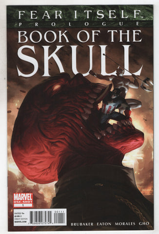 Fear Itself Book of the Skull #1 Marvel 2011 NM Invaders