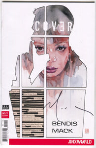 Cover 1 A DC 2018 NM Signed David Mack LTD 20 Brian Michael Bendis