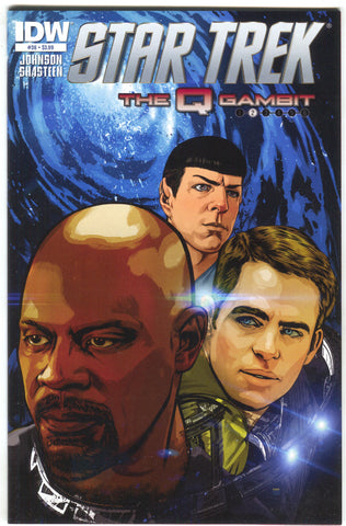Star Trek 36 A IDW 2014 NM Tony Shasteen