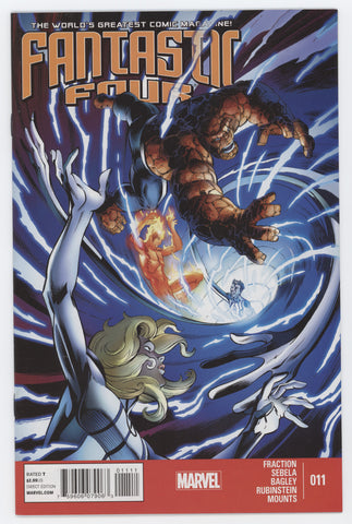 Fantastic Four #11 4th Series Marvel 2013 Mark Bagley Matt Fraction