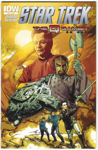 Star Trek 37 A IDW 2014 NM Tony Shasteen