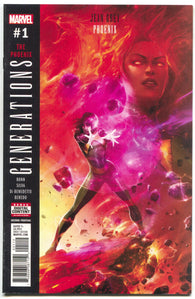 Generations The Phoenix 1 Marvel 2017 NM- 2nd Print Francesco Mattina Variant