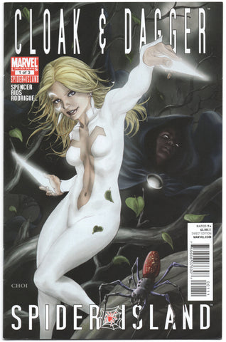 Spider-Island Cloak And Dagger 1 A Marvel 2011 VF Mike Choi Nick Spencer