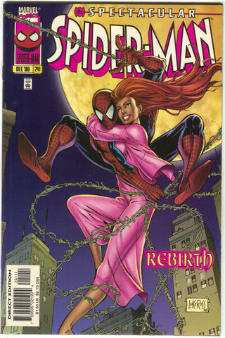 Spectacular Spider-Man 241 Marvel 1996 NM Mary Jane NYC WTC Twin Towers Panel