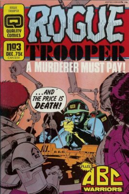 Rogue Trooper 3 Quality 2000AD