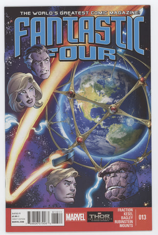 Fantastic Four #13 A 4th Series Marvel 2013 Mark Bagley Matt Fraction