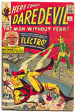Daredevil 2 Marvel 1964 FN Stan Lee Jack Kirby Electro Fantastic Four