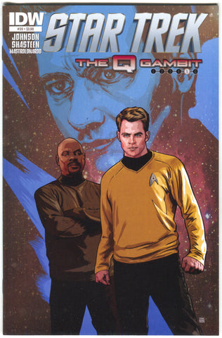 Star Trek 39 A IDW 2014 NM Tony Shasteen