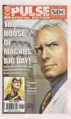 House of M Pulse Special Edition Marvel 2005 Newspaper