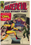 Daredevil 3 1st Series Marvel 1964 FN VF 1st Owl Jack Kirby Stan Lee