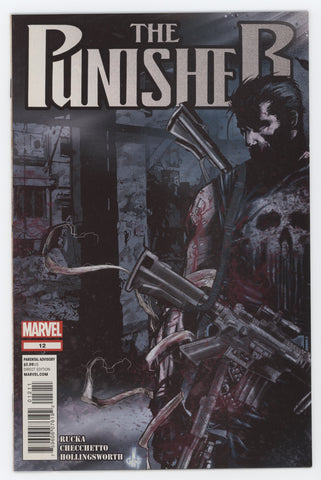 Punisher 12 9th Series Marvel 2012 FN Greg Rucka Marco Checchetto