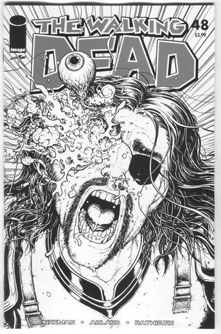 Walking Dead 48 Image 2018 15th Anniversary Chris Burnham B&W Variant Blind Bag