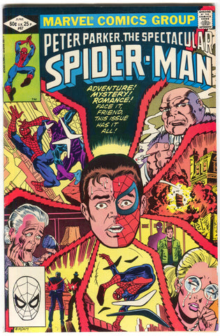 Spectacular Spider-Man 67 Marvel 1982 VG FN Boomerang Kingpin Hulk Iron Fist